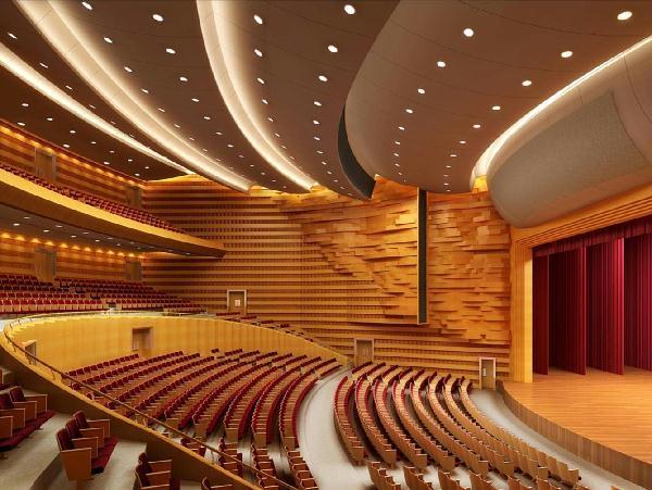 北京语言大学基建处 工程项目 综合楼二期工程礼堂精装修项目